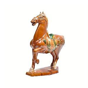 Objeto ornamentação cavalo de cerãmica