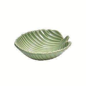 Bowl cerâmico para sopas verde