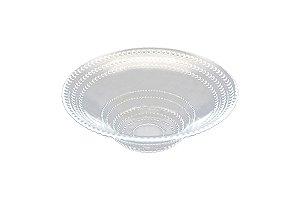 Bowl saladeira em vidro incolor 16 cm