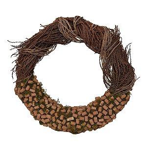 Guirlanda de Fibra de Coco com Rolhas G
