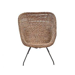 Cadeira Vime com Armação Ferro