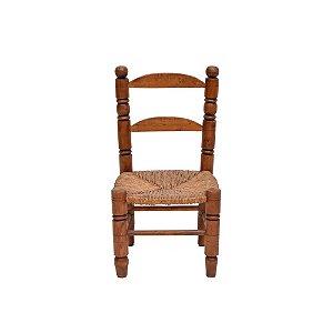 Cadeira Infantil Argentina Assento Palha