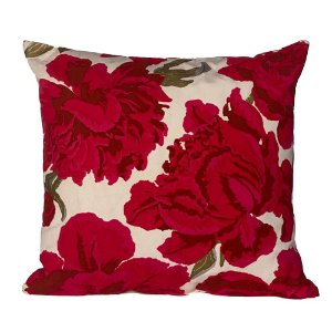 Almofada Floral Vermelha