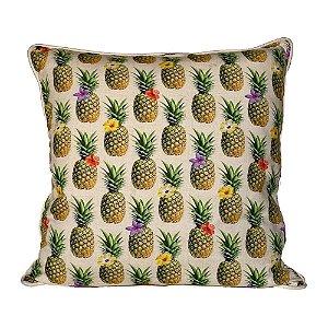 Almofada Abacaxis Floridos