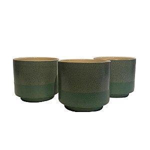 Vaso Boreal Foret em Cerâmica