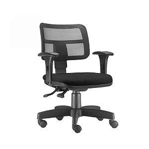 Cadeira Ergonômica Frisokar ZIP, Base Metálica, Rodinha em Nylon e Pistão Classe 3