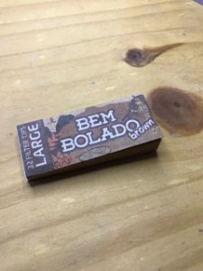 TIPS BEMBOLADO LARGE BROWN