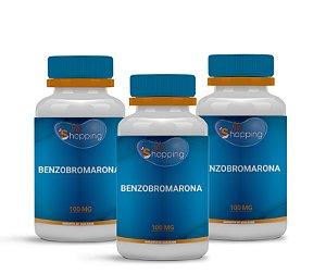 2 Benzobromarona 100mg (60 cápsulas cada) e ganhe 1 - Bioshopping
