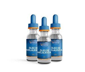 2 Óleo de Melaleuca 100% PURO e ganha 1 - Bioshopping