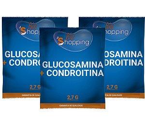 2 Glucosamina 1,5g + Condroitina 1,2g (30 sachês) e ganhe 1 - Bioshopping