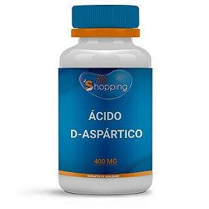 Ácido D-aspártico 400mg - Bioshopping