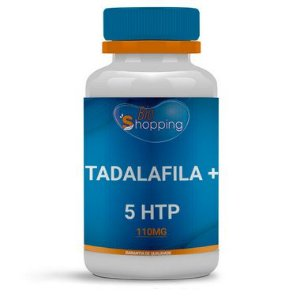 Tadalafila 10mg + 5HTP 100mg - BioShopping