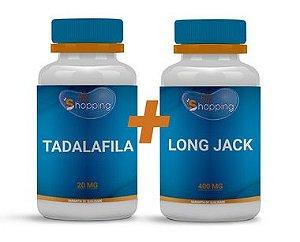 KIT 1 Pote de Long Jack + 1 Pote de Tadalafila - Bioshopping