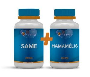 KIT 1 Pote de SAME 200mg + 1 Pote de Hamamélis 200mg - Bioshopping