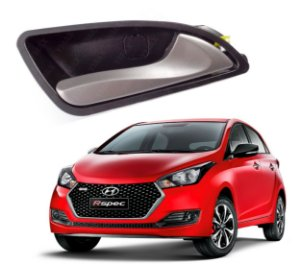 Puxador Maçaneta Interna Carro Hyundai Hb20 Alta Qualidade Dianteiro e Traseiro Interno Trinco