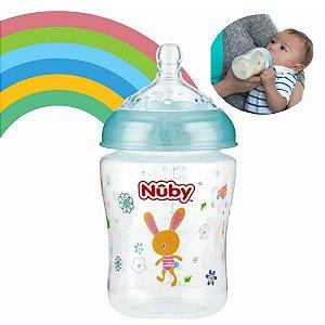 Mamadeira Para Bebês Bico Largo Normal 270ml Nuby