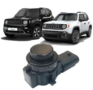 Sensor Estacionamento Traseiro Jeep Compass Renegade 3 Pinos