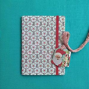 Combo Flores de Natal (caderno + tags)