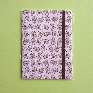Caderno Macaquice Rosa