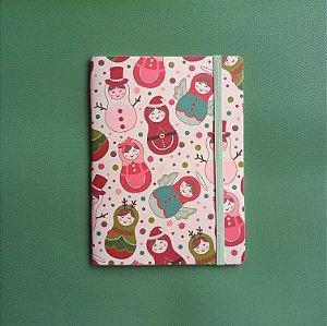 Caderno Bonecas