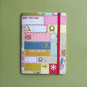 Caderno Merry Christmas
