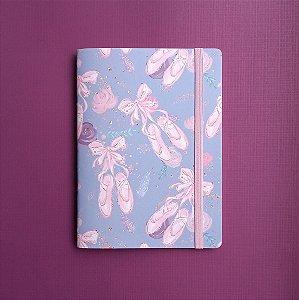 Caderno Sapatilhas Rosa