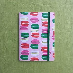 Caderno Macarons