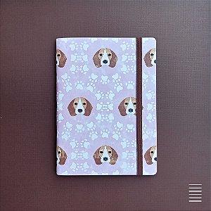 Caderno Beagle Face
