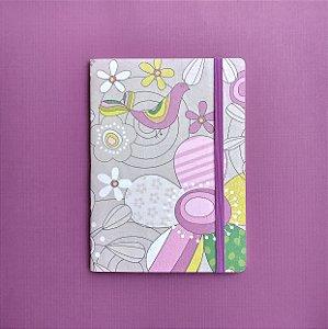 Caderno Flower Power