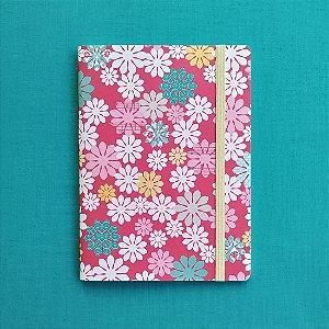 Caderno Papel em Flor