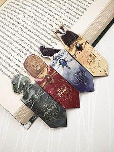 Hogwarts Casas | 4 Marca Páginas Magnéticos • Conjunto