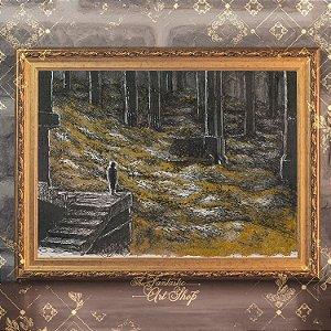 Bilbo em Erebor | Gravura de alta qualidade • Pintura em nanquim A3, arte fantástica, ilustração O Hobbit