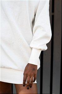 Vestido Moletom Off-white