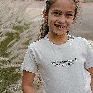 Camiseta Infantil Revolução