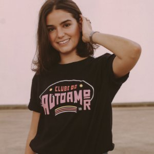 Camiseta Clube do Autoamor Preta