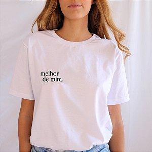 Camiseta Melhor de Mim branca