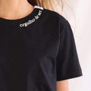 Camiseta Orgulho de Ser preta