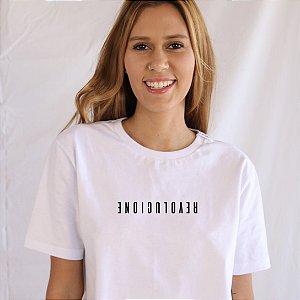 Camiseta Revolucione branca