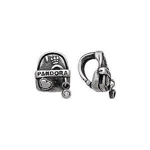 Berloque Escrito Pandora De Mochila - Prata 925