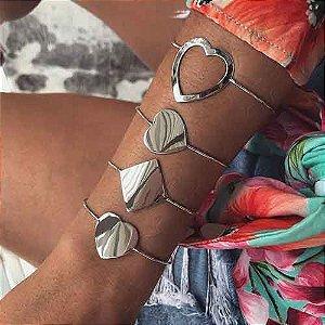Bracelete Losango - Prata 925