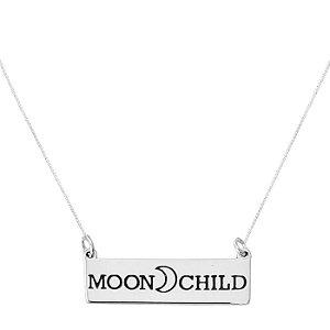 COLAR MOON CHILD - PRATA 925