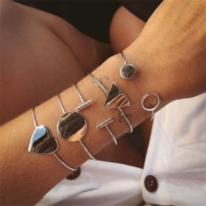 Bracelete De Coração - Prata 925