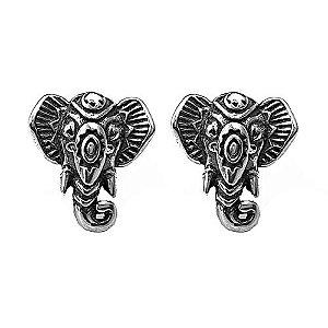 Brinco Elefante - Prata 925