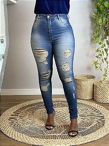 Calça Jeans Destroyed II (Carmen)