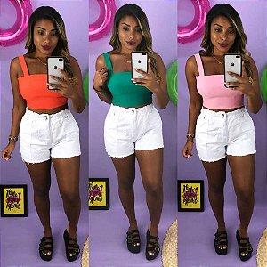 Short Jeans Carmen White