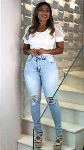 Calça Jeans Carmen Clear