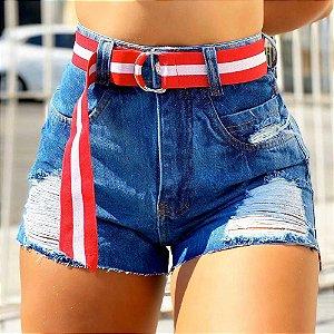 Short Jeans Cintinho X