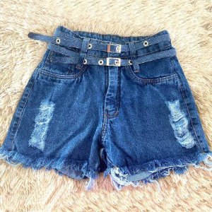 Short Jeans Cinto Duplo II