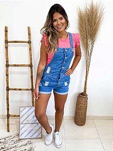 Jardineira Jeans Summer