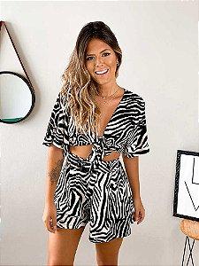 Cropped Zebra